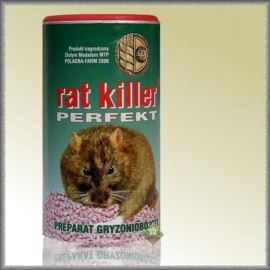 PREPARAT GRYZONIOBÓJCZY RAT KILLER 250 G BEST-PEST