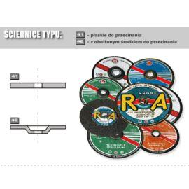 ŚCIER.41-125x1.0x22 A60TBF PRO METAL INCO FLEX